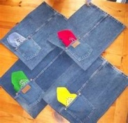 Jean placemats